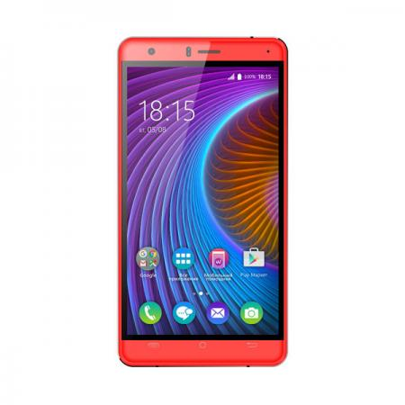Смартфон BQ-5503 Nice 2 Red MediaTek MT6737(1.3GHz)/1GB/8GB/5.5 1280x720/2 Sim/3G/LTE/13Mp+5Mp/BT/Wi-Fi/GPS/Android 7.0 смартфон impress lion dual cam 3g gold mediatek mt6580 1 3 1gb 8gb 5 1280x720 ips 2 sim 3g gps 8mp 5mp 5mp android 7 0 vln3gdc gld