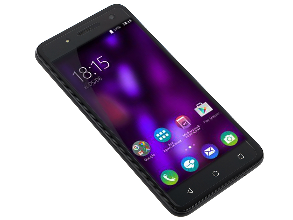 Смартфон BQ-5057 Strike 2 (Black) MediaTek MT6580 (1.3)/1GB/8GB/5.0 1280х720 IPS 2.5D/2Sim/13Mp, 8Mp Cam/Android 7.0 смартфон bqs 5050 strike selfie grey mediatek mt6580 1 3 8 gb 1 gb 5 1280x720 dualsim 3g bt android 6 0