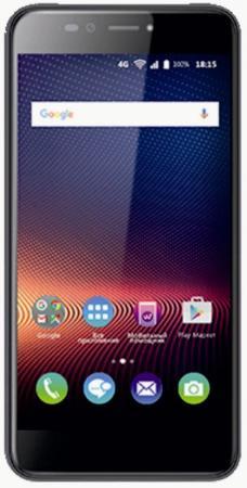 Смартфон BQ-5540 Strike Selfie Max (Dark Gray) MediaTek MT6737 (1.3)/3GB/16GB/5.5 1280х720 IPS/4G LTE/2Sim/16Mp, 13Mp Cam/Android 7.0 bq 2427 boom l gray