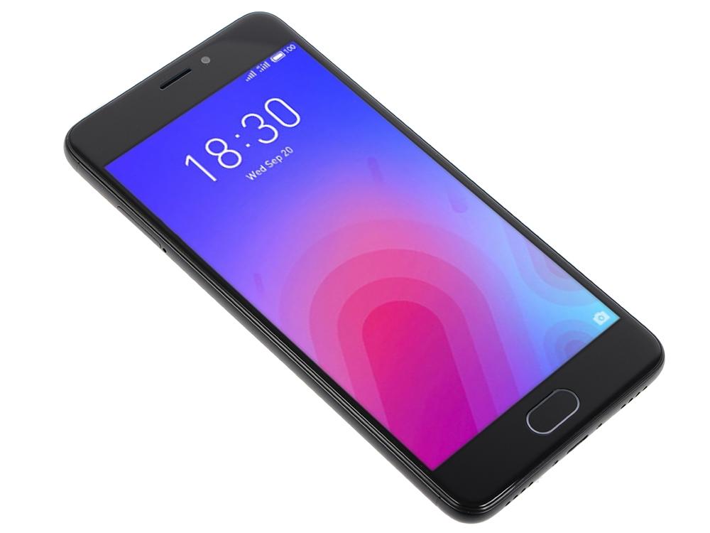 Смартфон Meizu M6 Black, M711H, 5.2'' 1280x720, 1.0GHz+1.5GHz, 8 Core, 2/16GB, up to 128GB, 13Mp/8Mp, 2 Sim, 2G, 3G, LTE, BT, Wi-Fi, GPS, Glonass, 307 д н овсянико куликовский грамматика русского языка