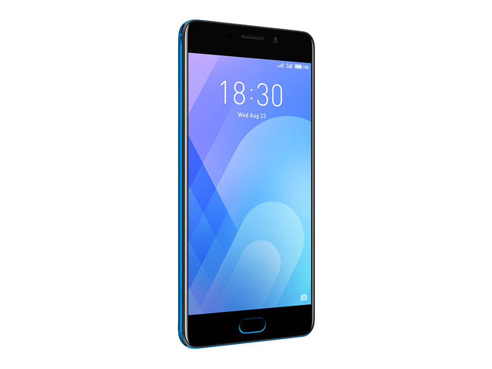 Смартфон Meizu M6 Note (M721H_32Gb_Blue) Snapdragon 625 (2.0) / 3Gb / 32Gb / 5.5 1920x1080 / 2SIM / 3G / 4G LTE / 12Mp+5Mp, 16Mp Cam / Android 7.1 (Blue) смартфон meizu meilan x 3gb 32gb
