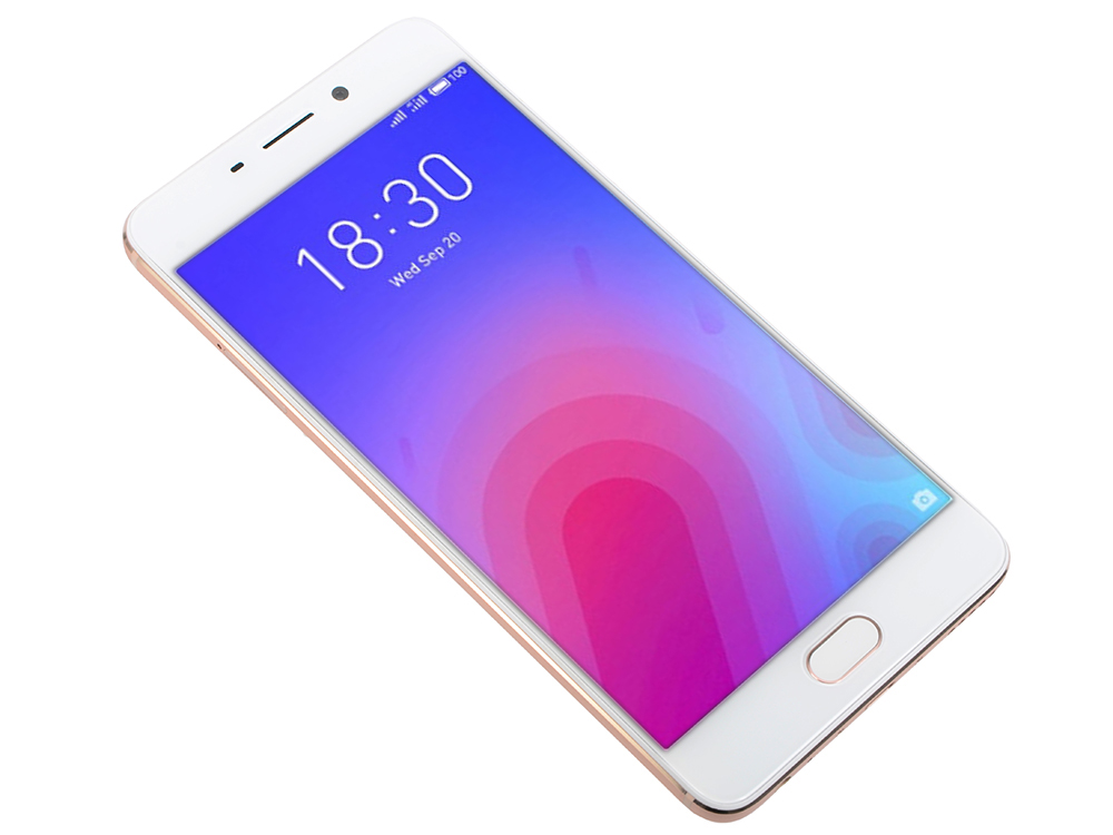 Смартфон Meizu M6 Note (M721H_32Gb_Gold) Snapdragon 625 (2.0) / 3Gb / 32Gb / 5.5 1920x1080 / 2SIM / 3G / 4G LTE / 12Mp+5Mp, 16Mp Cam / Android 7.1 (Gold) makibes tempered glass for meizu m3 note meilan note 3 gold