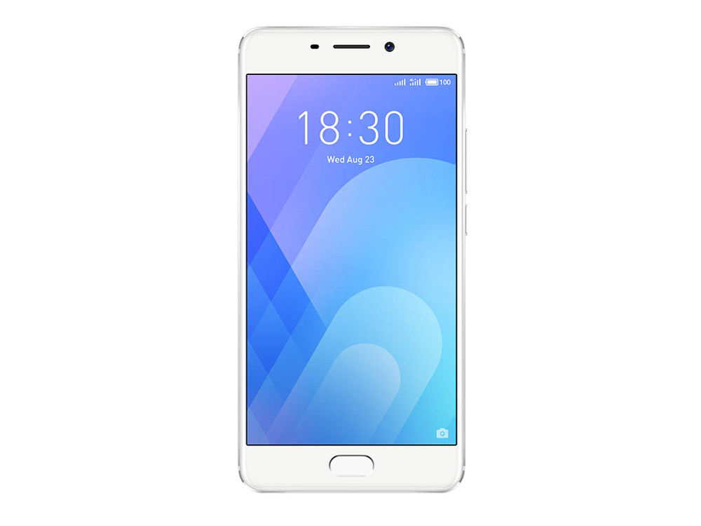 Смартфон Meizu M6 Note (M721H_32GB_Silver) Snapdragon 625 (2.0) / 3Gb / 32Gb / 5.5 1920x1080 / 2SIM / 3G / 4G LTE / 12Mp+5Mp, 16Mp Cam / Android 7.1 (Silver) elephone m2 5 5inch fhd 4g android 5 1 3gb 32gb mtk6755 smartphone