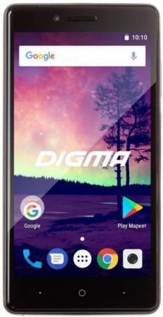 Смартфон Digma VOX S509 3G VS5032PG Black Spreadtrum SC7731C (1.3)/16 Gb/2 Gb/5'' (845x480)/DualSim/3G/BT/Android 7.0 смартфон digma vox g500 3g 8gb черный vs5027mg