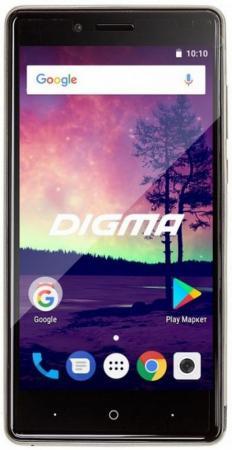 Смартфон Digma VOX S509 3G VS5032PG Silver Spreadtrum SC7731C (1.3)/16 Gb/2 Gb/5'' (845x480)/DualSim/3G/BT/Android 7.0 смартфон digma vox g500 3g 8gb черный vs5027mg