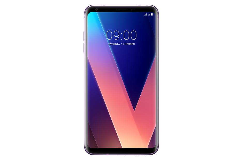 Смартфон LG H930DS V30+ Violet Qualcomm Snapdragon 835, 2.45 ГГц/6.0 (2880 x1440)/3G/4G/4Gb/128Gb/16Mp+5Mp/Android 7.1