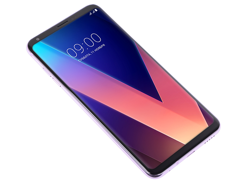 Смартфон LG H930DS V30+ Violet Qualcomm Snapdragon 835, 2.45 ГГц/6.0 (2880 x1440)/3G/4G/4Gb/128Gb/16Mp+5Mp/Android 7.1 смартфон zte blade v9 4 64 blue qualcomm snapdragon 450 1 8 4gb 64gb 5 7 2160x1080 ips 16mp 5mp 13mp 2sim 3g 4g android 8 1