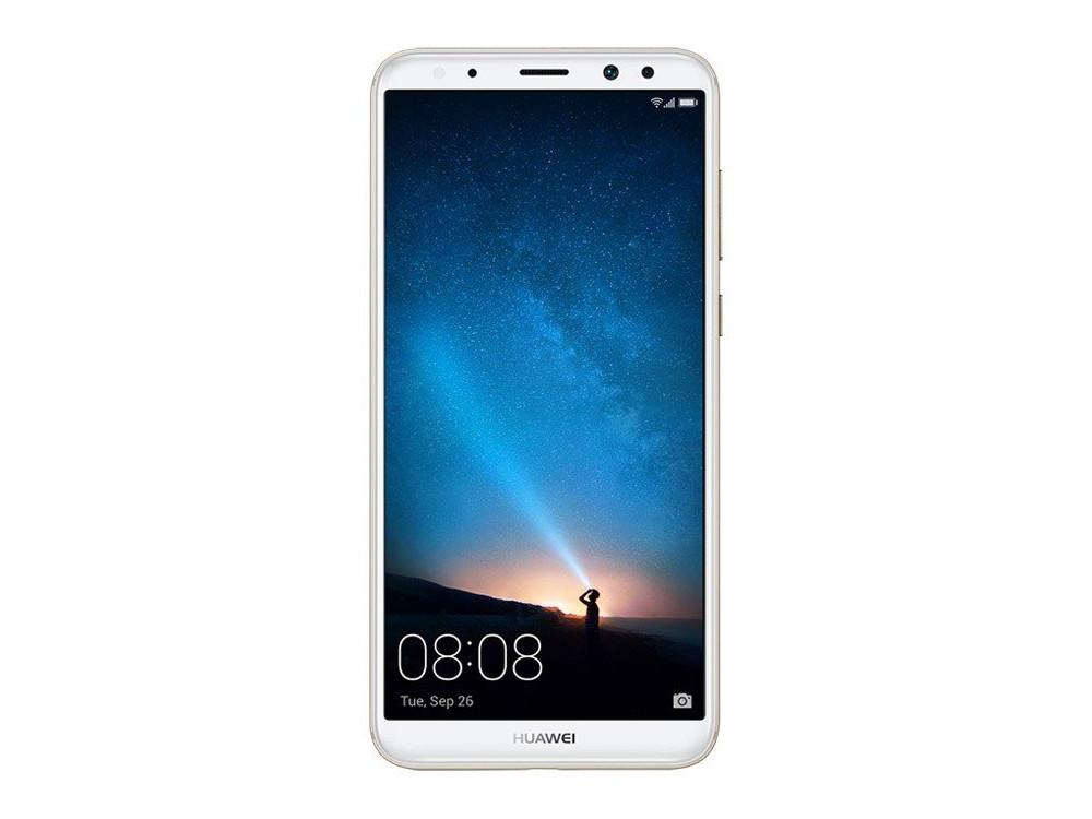 Смартфон Huawei Nova 2I Gold HiSilicon Kirin 659 (2.34)/4GB/64GB/5.93 (2160x1080)/3G/4G LTE/16Mp+2Mp,13Mp+2Mp Cam/BT/Android 7.0 (51091YFY) смартфон huawei y5 2017 lte gold