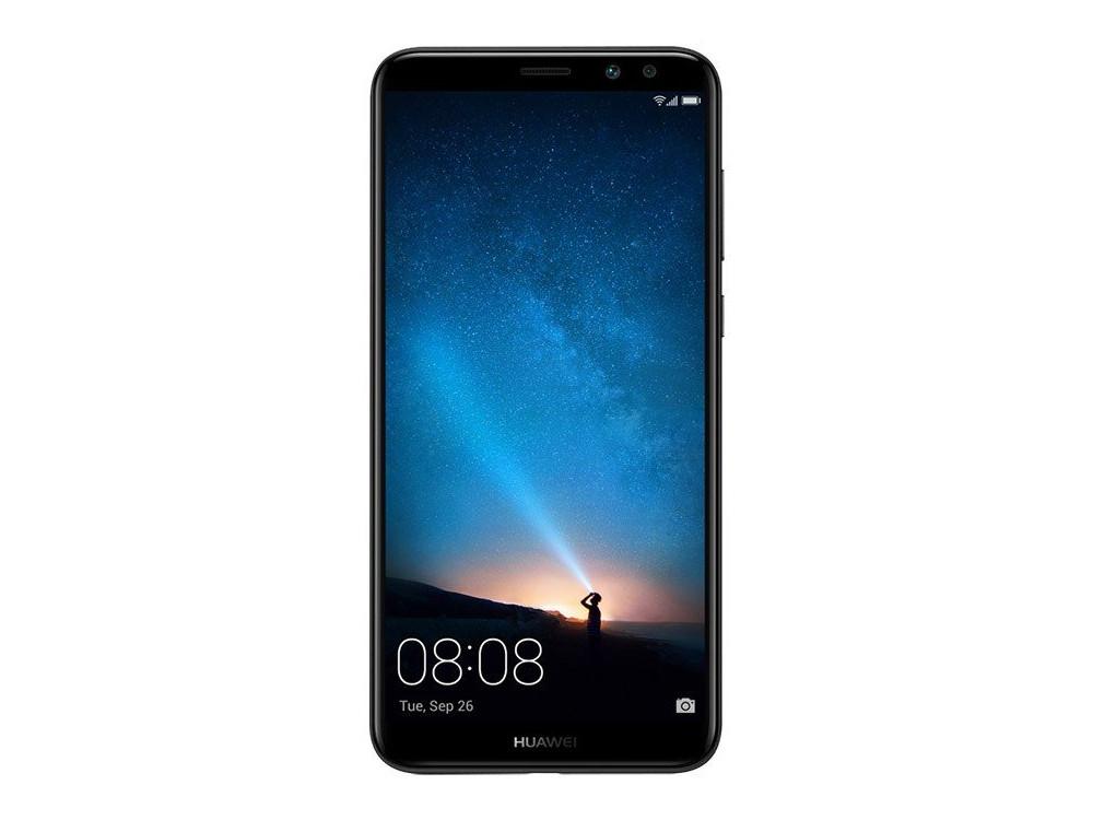Смартфон Huawei Nova 2I Black HiSilicon Kirin 659 (2.34)/4GB/64GB/5.93 (2160x1080)/3G/4G LTE/16Mp+2Mp,13Mp+2Mp Cam/BT/Android 7.0 (51091YGB) смарт часы huawei 2 sport bt leo bx9 carbon черный 55021794