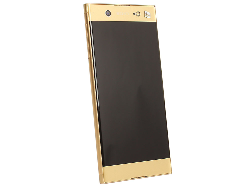 Смартфон Sony Xperia XA1 Ultra Dual (G3212) Gold MediaTek Helio P20/4GB/32GB/6 (1920x1080)/3G/4G LTE/23Mp,16Mp Cam/BT/Android 7.0 (1308-0891) смартфон bqs 5050 strike selfie grey mediatek mt6580 1 3 8 gb 1 gb 5 1280x720 dualsim 3g bt android 6 0