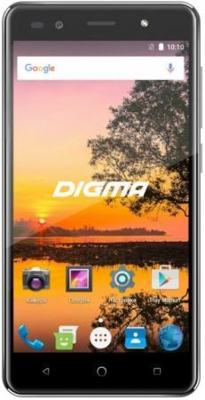 Смартфон Digma VOX S513 4G VS5035ML Black MediaTek MT6737 (1.3)/16 Gb/1 Gb/5 (1280x720)/DualSim/3G/4G/BT/Android 7.0 автомагнитола videovox vox 100 black