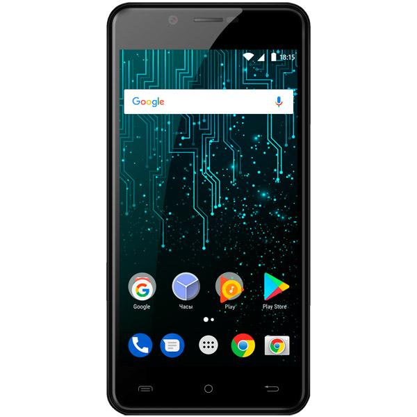 Смартфон BQ 5007L Iron Black MediaTek MTK6737(1.3)/16 Gb/2 Gb/ 5 (1280x720)/DualSim/3G/4G/Android 7.0 смартфон lg k430ds k10 lgk430ds aciswh white mediatek mt6753 1 3 16 gb 1 5 gb 5 3 1280x720 dualsim 3g 4g bt android 6 0