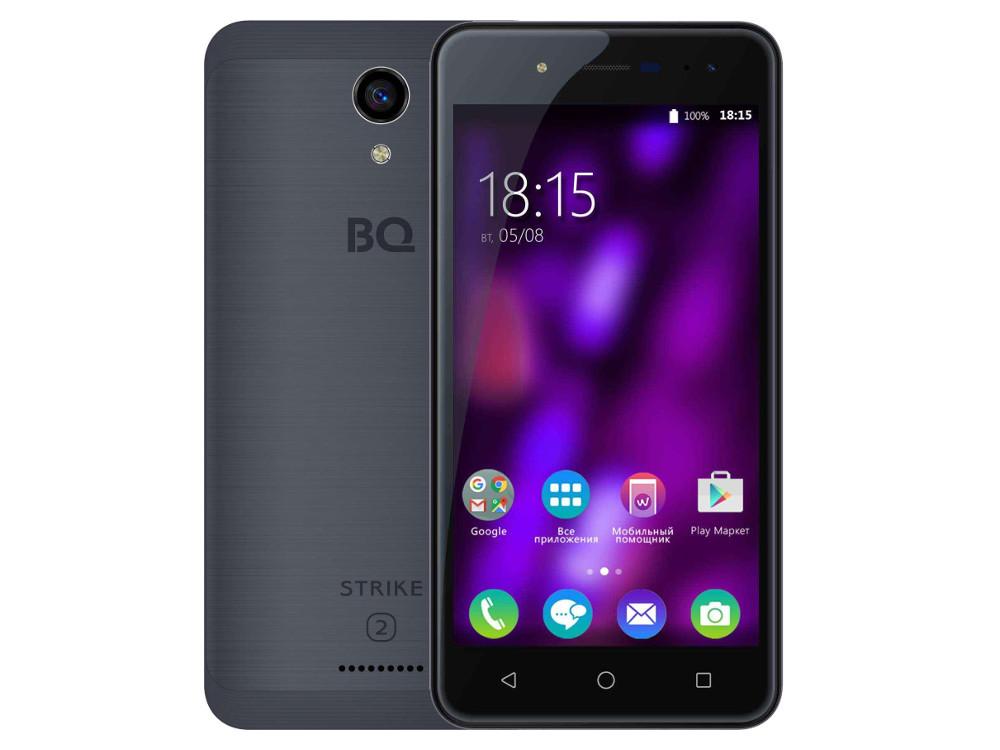 Смартфон BQ 5057 Strike 2 Серый Матовый