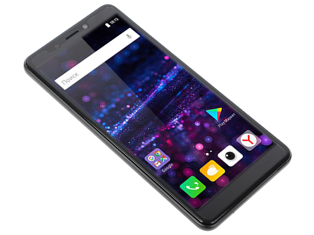 Смартфон BQ-5522 Next (Black) MediaTek MT6580M (1.3)/1GB/8GB/5.45 960х480 IPS/2Sim/5Mp, 5Mp Cam/Android 7.0 thl t6 pro android 4 4 octa core wcdma phone w 5 ips 1gb ram 8gb rom wifi gps fm black