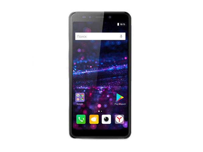 Смартфон BQ-5522 Next (Gray) MediaTek MT6580M (1.3)/1GB/8GB/5.45 960х480 IPS/2Sim/5Mp, 5Mp Cam/Android 7.0 bq 2427 boom l gray
