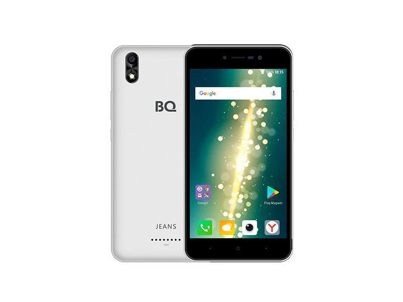 Смартфон BQ-5591 Jeans (Silver) MediaTek MT6580 (1.3)/1GB/8GB/5.0