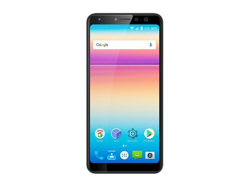 Смартфон BQ-5700L Space X (Black) Qualcomm Snapdragon 430 (1.4)/3GB/32GB/5.7 1440х720 IPS/2Sim/4G LTE/FPR/16Mp, 20+8Mp Cam/Android 7.1 смартфон bq mobile space x black bq 5700l