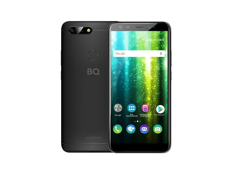 Смартфон BQ-6000L Aurora (Black) MediaTek Helio P25 (2.6)/4GB/64GB/6.0 1440х720 IPS/2Sim/4G LTE/FPR/13+5Mp, 20+8Mp Cam/Android 7.1 12au22018 ta кастрюля 2 5 л 18см aurora