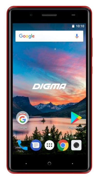 Смартфон Digma HIT Q500 3G HT5035PG Red Spreadtrum SC7731C (1.3)/8 Gb/1 Gb/5'' (854x480)/DualSim/3G/BT/Android 7.0 смартфон digma hit q500 3g ht5035pg gold spreadtrum sc7731c 1 3 8 gb 1 gb 5 854x480 dualsim 3g bt android 7 0