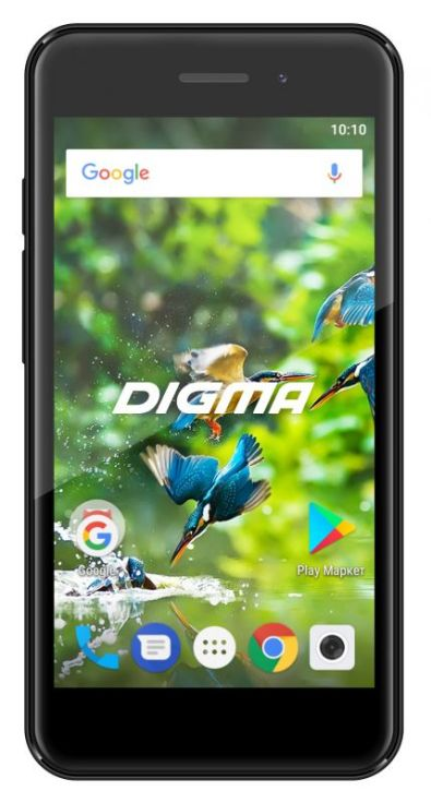 Смартфон Digma Linx A453 LT4038PG Black Spreadtrum SC7731C (1.3)/8 Gb/1 Gb/4.5'' (854x480)/DualSim/3G/BT/Android 7.0 смартфон digma hit q500 3g ht5035pg gold spreadtrum sc7731c 1 3 8 gb 1 gb 5 854x480 dualsim 3g bt android 7 0