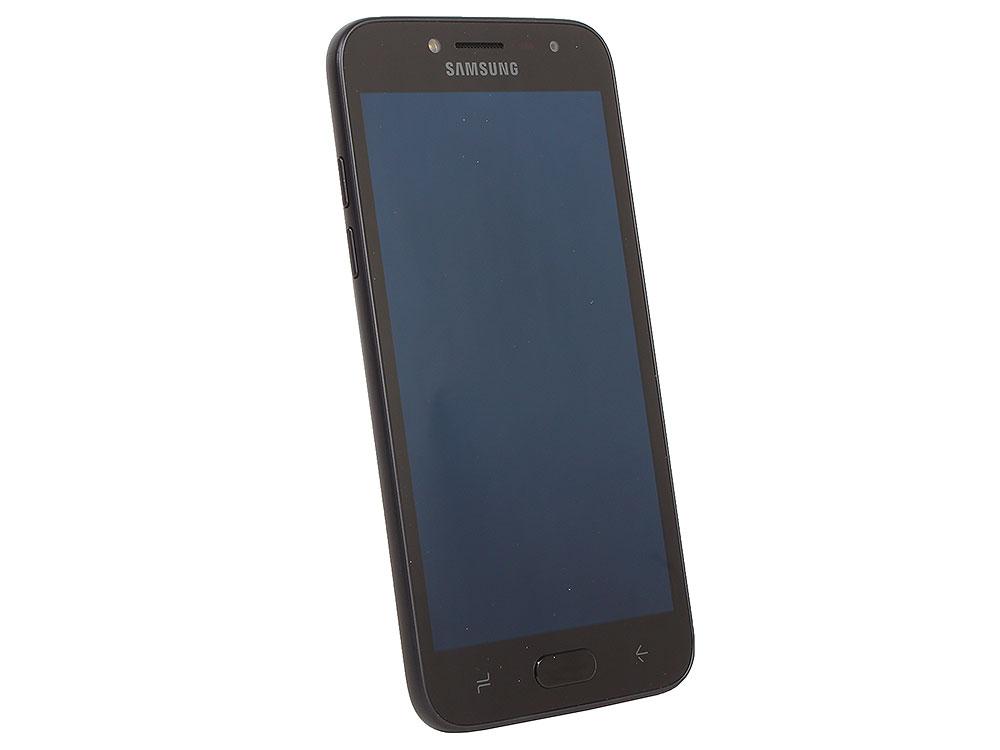 Смартфон Samsung Galaxy J2 (2018) SM-J250F/D (2.2)/1.5GB/16GB/5.0 960x540/8Mp, 5Mp/4G LTE/2Sim/Android 7 (Black) (SM-J250FZKDSER) смартфон samsung galaxy a8 2018 black sm a530f exynos 7885 2 2 4gb 32gb 5 6 2220x1080 16mp 16mp 8mp 4g lte 2sim android 7 1 sm a530fzkdser