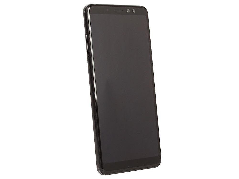 Смартфон Samsung Galaxy A8 (2018) SM-A530F Exynos 7885 (2.2)/4GB/32GB/6 2220x1080/16Mp, 16Mp+8Mp/4G LTE/2Sim/Android 7.1 (Black) (SM-A730FZKDSER) смартфон samsung galaxy s6 edge 32gb black sapphire sm g925fzkaser android 5 0 exynos 7420 2100mhz 5 1 2560х1440 3072mb 32gb 4g lte 3g edge hsdpa hsupa [sm g925fzkaser]