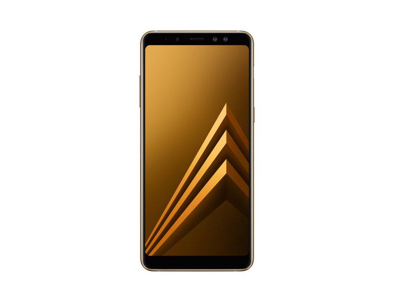 Смартфон Samsung Galaxy A8 (2018) SM-A530F Exynos 7885 (2.2)/4GB/32GB/5.6 2220x1080/16Mp, 16Mp+8Mp/4G LTE/2Sim/Android 7.1 (Gold) (SM-A730FZDDSER) смартфон samsung galaxy s8 64gb sm g955fz maple gold android 7 0 nougat exynos 8895 2300mhz 6 2 2960х1440 4096mb 64gb 4g lte [sm g955fzddser]