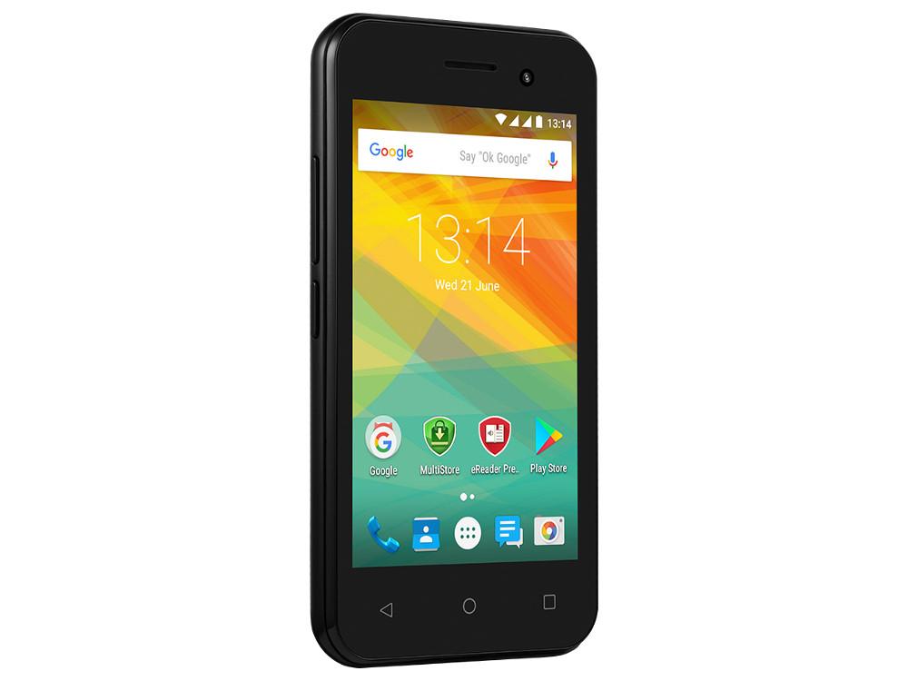 Смартфон Prestigio Wize R3 (PSP3423DUOBLACK) Quad-Core (1.2)/512MB/4GB/4.0