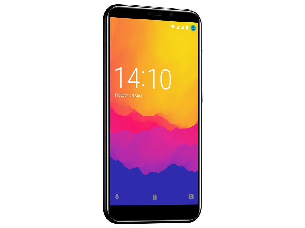 Смартфон Prestigio Wize Q3 (PSP3471DUOBLACK) SC7731G (1.2) / 1GB / 8GB / 4.95 960x480 2.5D / WiFi / BT / Android 7.0 (Black) планшет prestigio multipad grace 3118 pmt31183gccis black mediatek mt8321 1 2 ghz 1024mb 8gb wi fi bluetooth cam 8 0 1280x800 android
