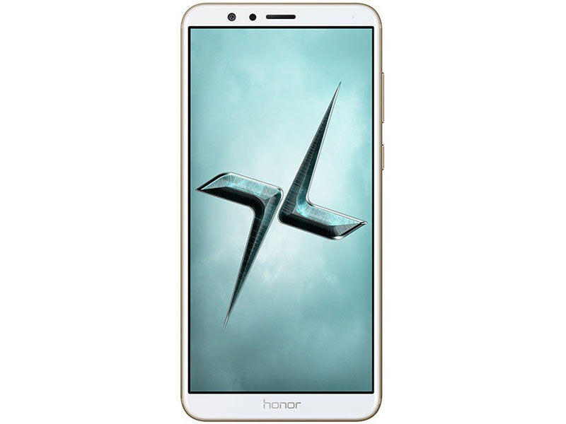 Смартфон HONOR 7X (BND-L21 51091YUA) Gold Kirin 659(2.36GHz)/4GB/64GB/5.9 2160x1080/2 Sim/3G/LTE/BT/Wi-Fi/GPS/Glonas/Android 7.0 смартфон alcatel 3v 5099d spectrum gold mediatek mt8735 2gb 16gb 6 0 2160x1080 2 sim 3g lte bt 12mp 2mp 5mp wi fi gps glonas android 8 0