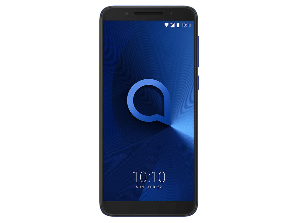 Смартфон Alcatel 3 5052D Spectrum Blue MediaTek MT6739/2GB/16GB/5.5 1440x720/2 Sim/3G/LTE/BT/13Mp+5Mp/Wi-Fi/GPS/Glonas/Android 8.0