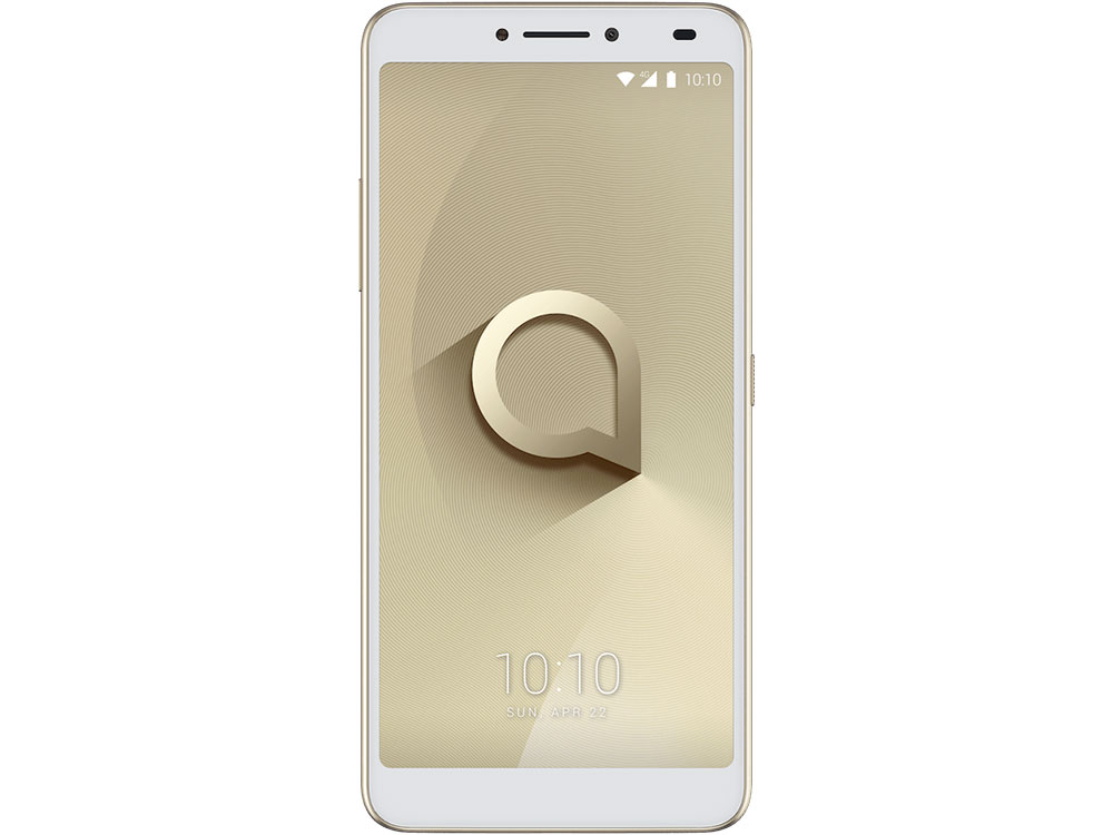 Смартфон Alcatel 3V 5099D Spectrum Gold MediaTek MT8735/2GB/16GB/6.0 2160x1080/2 Sim/3G/LTE/BT/12Mp+2Mp/5Mp/Wi-Fi/GPS/Glonas/Android 8.0