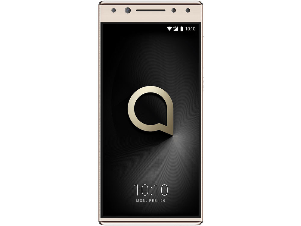 Смартфон Alcatel 5 5086D Metallic Gold MediaTek MT6750/3GB/32GB/5.7 1440x720/2 Sim/3G/LTE/BT/12Mp/13Mp+5Mp/Wi-Fi/GPS/Glonas/Android 7.0 смартфон bq 6001l jumbo black mediatek mt6739wa 2gb 16gb 6 0 1440x720 2 sim 3g lte bt 13mp 8mp wi fi gps android 7 1