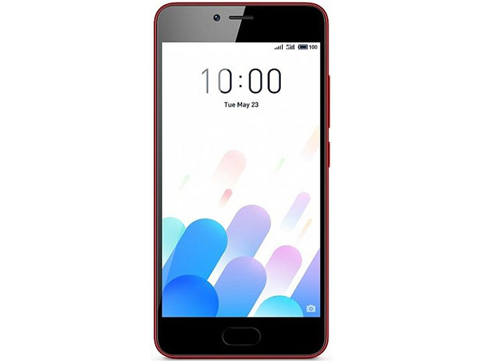Смартфон Meizu M5c 16Gb Red MediaTek MT6767/2GB/16GB/5.0 1280x720/2 Sim/3G/LTE/BT/8Mp+5Mp/Wi-Fi/GPS/Glonas/Android 6.0 смартфон meizu m5 note m621h 16gb серый