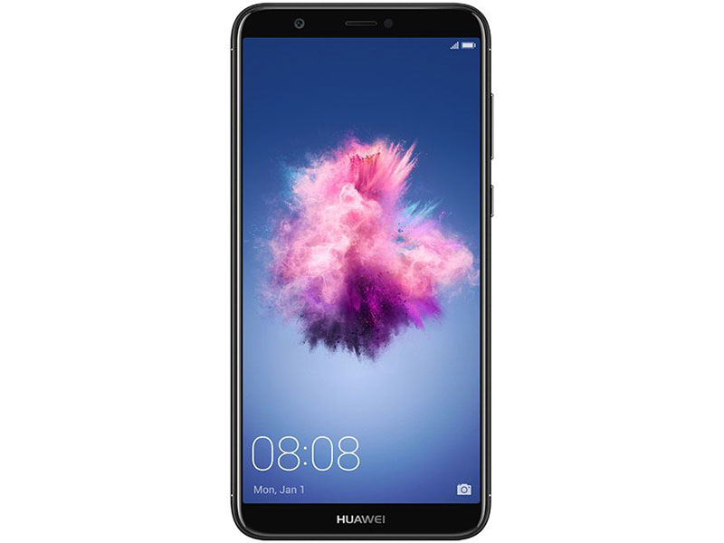 Смартфон Huawei P Smart (FIG-LX1) Black Kirin 659(2.36GHz)/3GB/32GB/. 2160x1080/ Sim//LTE/BT/Wi-/16Mp+2Mp/8Mp/GPS/Glonas/Android .