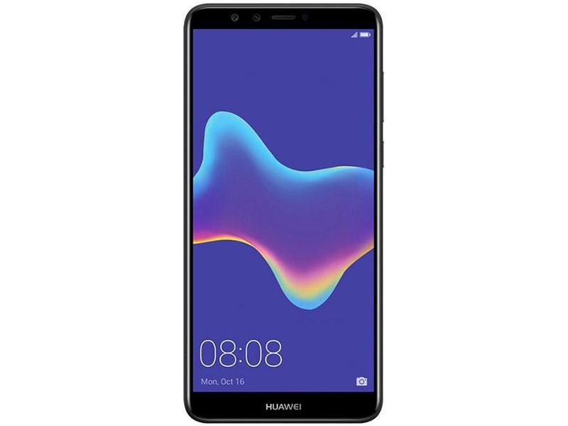 Смартфон Y9 2018 (FLA-LX1) Black Kirin 659(2.36GHz)/3GB/32GB/5.93 2160x1080/2 Sim/3G/LTE/BT/Wi-Fi/13Mp+2Mp/8Mp+2Mp/GPS/Glonas/Android 8.0