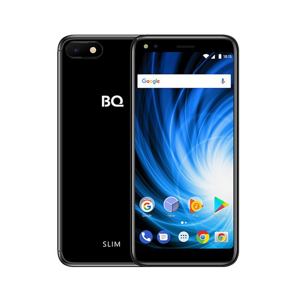 Смартфон BQ 5701L Slim 85956729 Glossy Black MediaTek MT6737H (1.3)/16 Gb/2 Gb/5.7 (1440x720)/DualSim/3G/4G/BT/Android 7.0 смартфон bq bq 5510 strike power max 4g золотистый mediatek mt6737 1гб 8 гб 5 5 1280x720 13mpix dualsim 3g 4g bt android 7 0