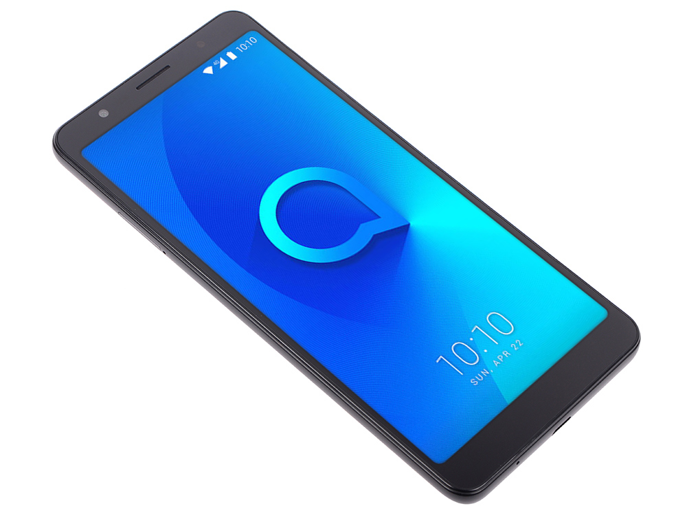 Смартфон Alcatel 3C 5026D Metalic Black MediaTek MT8321/1GB/16GB/6.0 1440x720/2 Sim/3G/BT/8Mp+5Mp/Wi-Fi/GPS/Glonas/Android 7.0 смартфон alcatel u5 hd 5047d белый 5 8 гб lte wi fi gps 3g