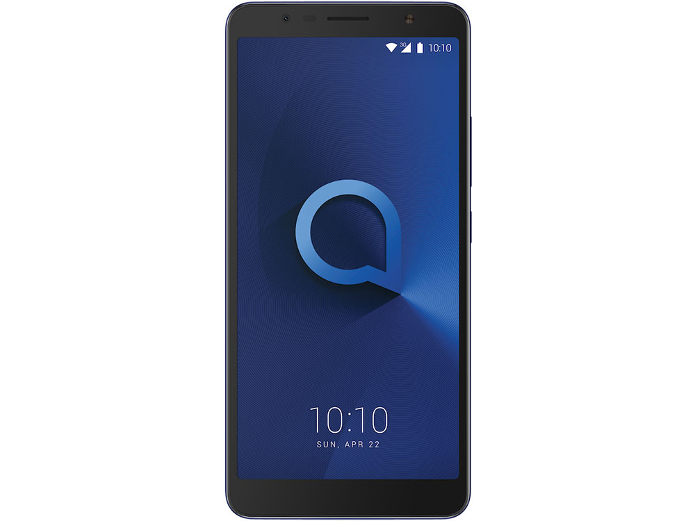Смартфон Alcatel 3C 5026D Metalic Blue MediaTek MT8321/1GB/16GB/6.0 1440x720/2 Sim/3G/BT/8Mp+5Mp/Wi-Fi/GPS/Glonas/Android 7.0