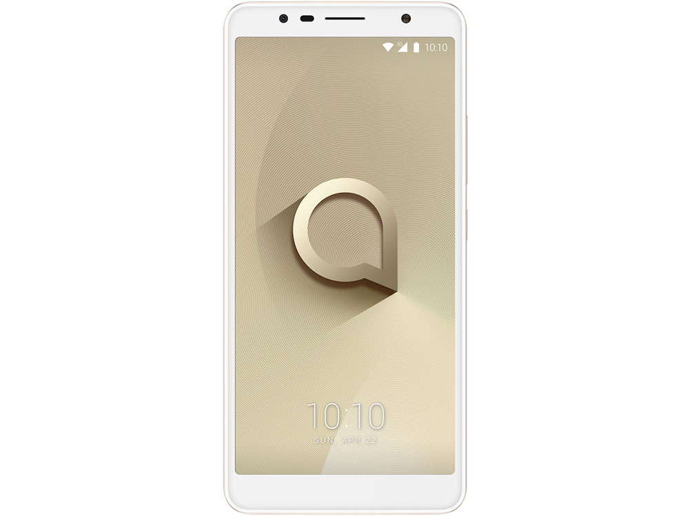 Смартфон Alcatel 3C 5026D Metalic Gold MediaTek MT8321/1GB/16GB/6.0 1440x720/2 Sim/3G/BT/8Mp+5Mp/Wi-Fi/GPS/Glonas/Android 7.0 смартфон impress lion dual cam 3g gold mediatek mt6580 1 3 1gb 8gb 5 1280x720 ips 2 sim 3g gps 8mp 5mp 5mp android 7 0 vln3gdc gld