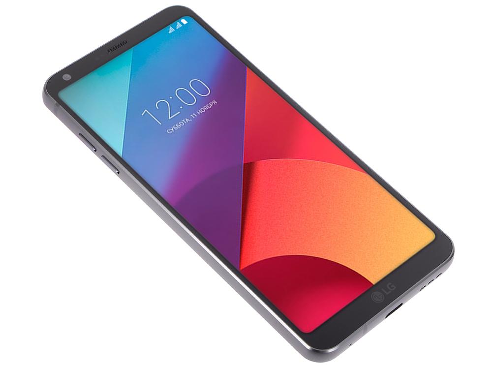 Смартфон LG H870S G6 64Gb черный моноблок 3G 4G 2Sim 5.7 1440x2880 Android 7.0 13Mpix 802.11abgnac Qualcomm Snapdrago 821, 2.35 ГГц/4Gb/64Gb/5.7 (28