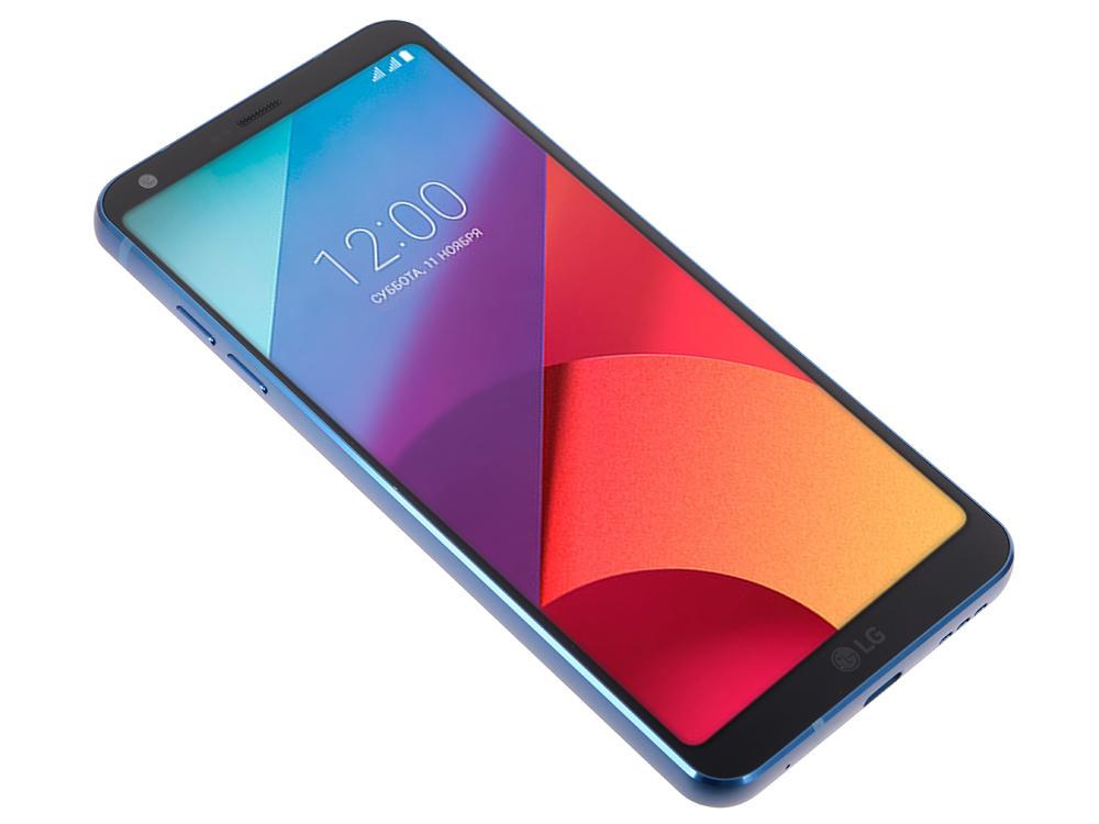 Смартфон LG H870S G6 64Gb синий моноблок 3G 4G 2Sim 5.7