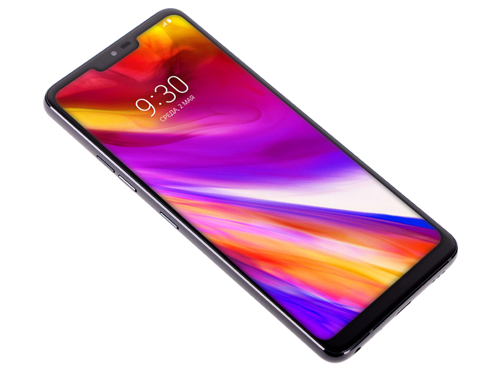 Смартфон LG G7 ThinQ (LMG710EMW.ACISBK) Aurora Black Qualcomm Snapdragon 845 (2.5)/64 Gb/4 Gb/6 (3120x1440)/DualSim/3G/4G/BT/Wi-Fi/16Mp+16Mp/8Mp/GPS/Glonas/Android 7.1 смартфон nubia z17 lite black gold qualcomm snapdragon 653 1 95 64 gb 6 gb 5 5 1920x1080 dualsim 3g 4g bt android 7 1