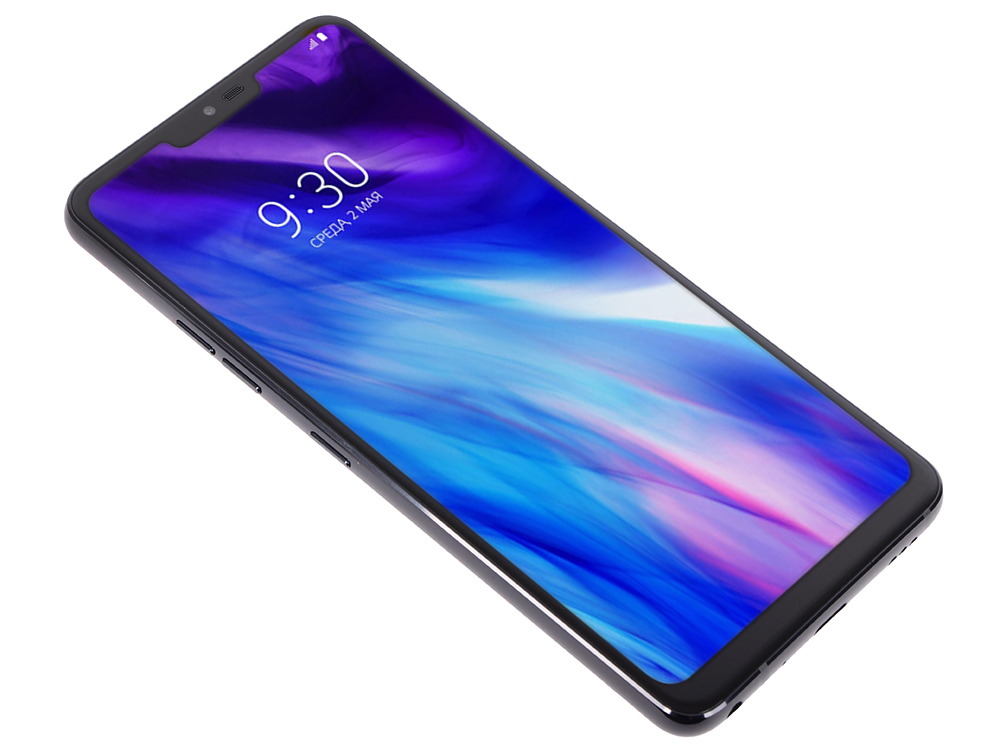 Смартфон LG G7 ThinQ (LMG710EMWBlack) Black Qualcomm Snapdragon 845 (2.5)/64 Gb/4 Gb/6 (3120x1440)/DualSim/3G/4G/BT/Wi-Fi/16Mp+16Mp/8Mp/GPS/Glonas/Android 7.1 смартфон nubia z17 lite black gold qualcomm snapdragon 653 1 95 64 gb 6 gb 5 5 1920x1080 dualsim 3g 4g bt android 7 1
