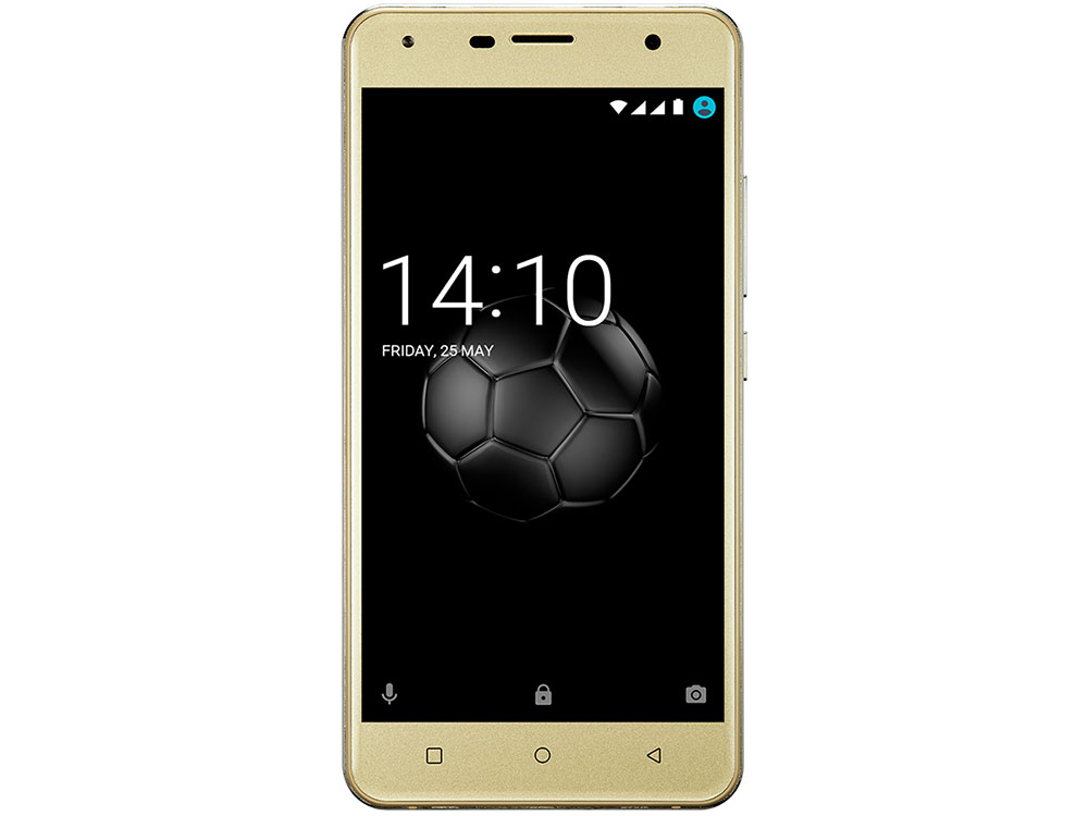 Смартфон Prestigio Muze X5 (PSP5518DUOGOLD) Dual SIM, 4G, 5.0`, HD (720x1280) IPS, 2.5D, Android 7.0 Nougat, Quad-Core 1.3GHz, 1GB RAM+8GB eMMC, 2.0MP prestigio muze b7 5 01280 720ips display dual sim android 6 0 1 3ghz quad core 2gb ddr 16gb flash 2 0mp front 13 0mp rear camera with flash light 2300mah battery black[psp7511duoblack]