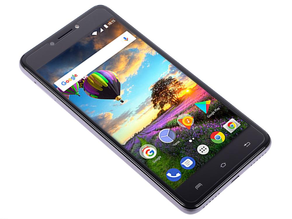 Смартфон BQ-5206L Balance (Grey) MediaTek MT6737V/W (1.25) / 2GB / 16GB / 5.2 1280х720 IPS / 2Sim / 13Mp, 8 Mp Cam / Android 7.0