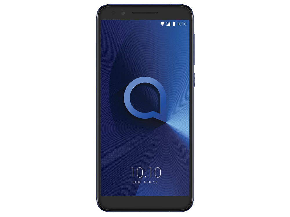 Смартфон Alcatel 3 5034D (Metalic Blue) MediaTek MT6739 (1.3) / 2GB / 16GB / 5.5 1440x720 / 2Sim / 3G / LTE / BT / 13Mp, 5Mp / Android 8.0 (5034D-2BALRU7) смартфон bqs 5050 strike selfie grey mediatek mt6580 1 3 8 gb 1 gb 5 1280x720 dualsim 3g bt android 6 0