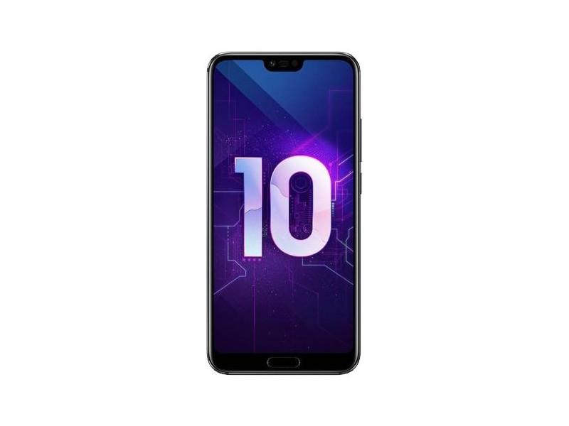 Смартфон HONOR 10 (51092JVU) (Black) HiSilicon Kirin 970 (2.36) / 4GB / 64GB / 5.84'' 2280x1080 LTPS / 2Sim / LTE / 24Mp+16Mp, 13Mp / Android 8.1 смартфон fly fs523 cirrus 16 lte black