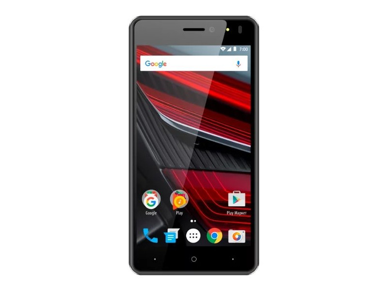 Смартфон Vertex Impress Energy (VRX-VNRG-GRP) MediaTek MT6737 (1.25) / 1GB / 8GB / 5 1280x720 IPS / 2Sim / 4G LTE / BT / Android 7.0 (Graphite) смартфон vertex impress tor tor blor snapdragon 210 1 1 1gb 8gb 5 1280x720 ips 2sim 4g lte ip68 android 7 1 black orange