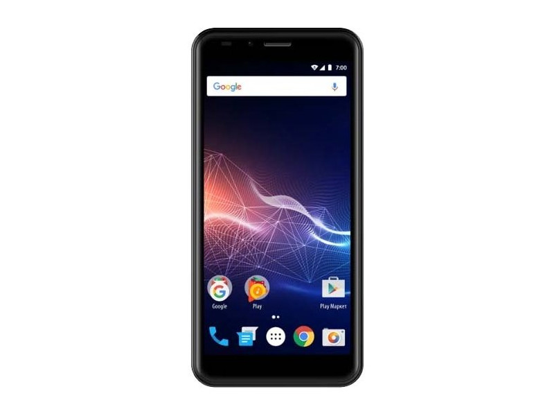 Смартфон Vertex Impress Click (VRX-VCLCK-GLD) MediaTek MT6580 (1.3) / 1GB / 8GB / 5 960x480 IPS / 2Sim / 3G / BT / Android 7.0 (Gold) смартфон bq 5594 strike power max black mediatek mt6580 1 3 1gb 8gb 5 5 1280х720 ips 2sim 8mp 5mp cam android 7 0